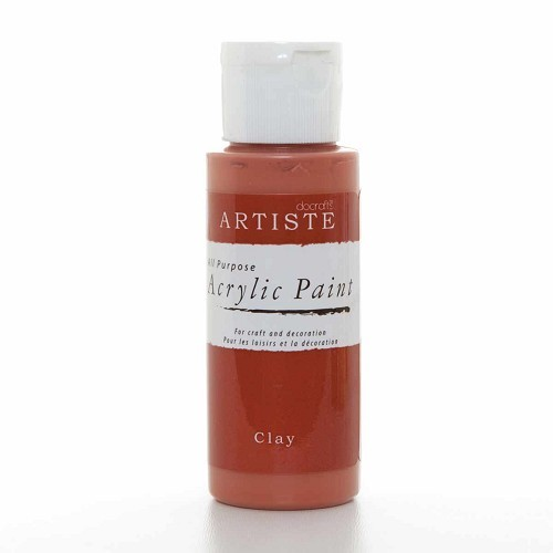 2OZ ACRYLIC PAINT - Clay
