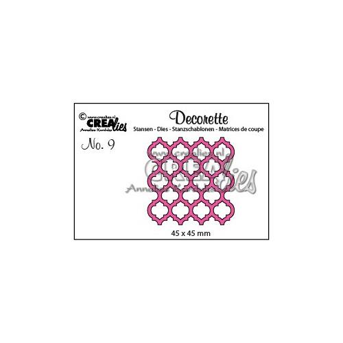Crealies Decorette no. 9 fantasy