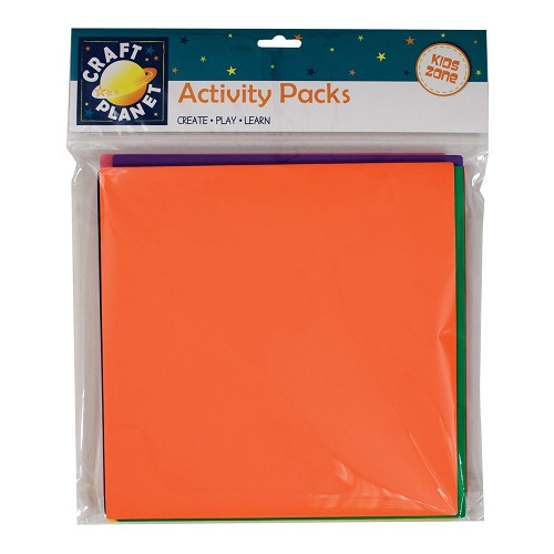 25 x 25cm Crafty Foam (10pk) - Assorted Colours