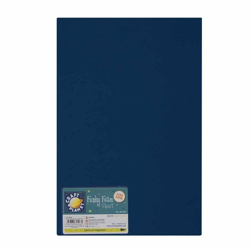 12 x 18 Funky Foam Sheet (2mm Thick) - Navy