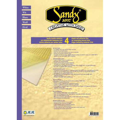 1 PK (1PK) Sandy Art® foil double sided 4 VL A4