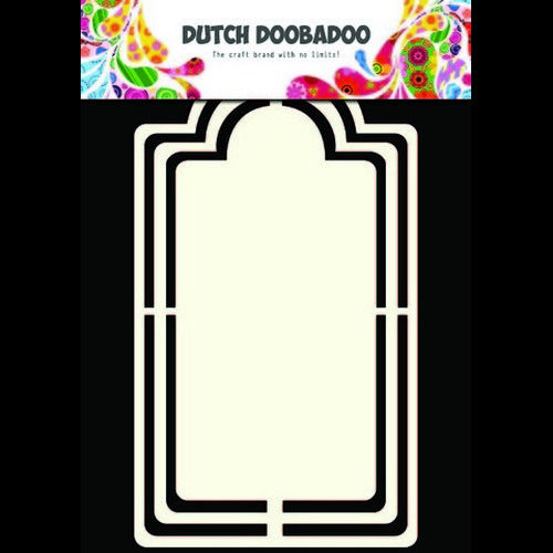 Dutch Doobadoo Dutch Shape Art frames label A5 - 470.713.125 (new 04-2015)