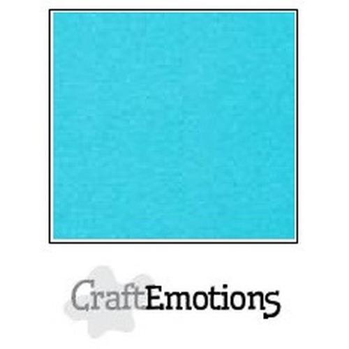 CraftEmotions parelmoer karton 10 vel aqua A4 250gr / double sided