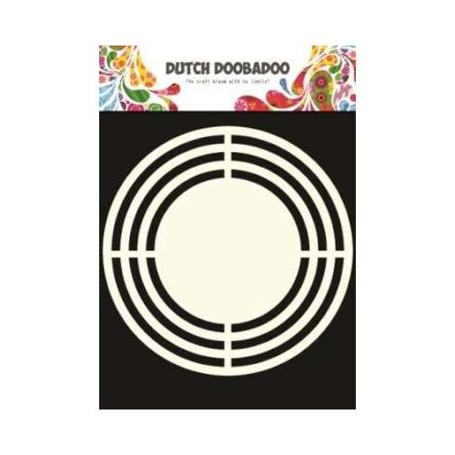 Dutch Doobadoo Dutch Shape Art frames cirkel A5