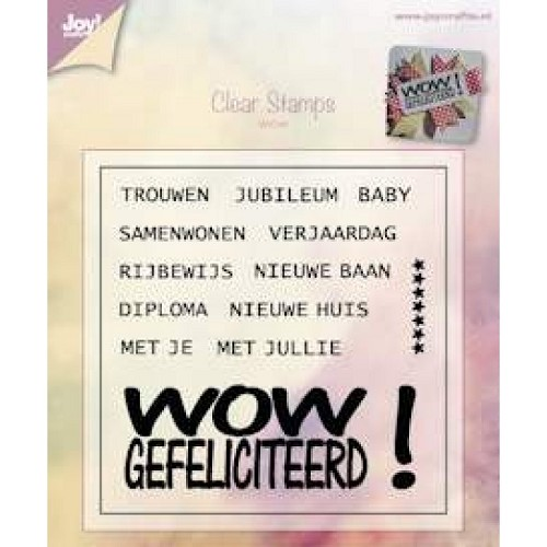 JOY!Crafts  stempel wow Rijan
