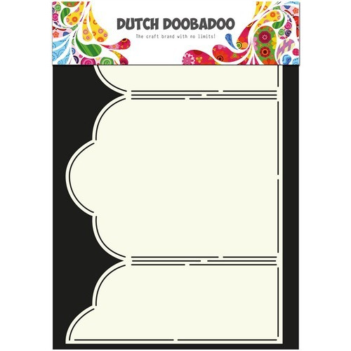 Dutch Doobadoo Dutch Card Art Stencil Triptech  A4 470.713.310