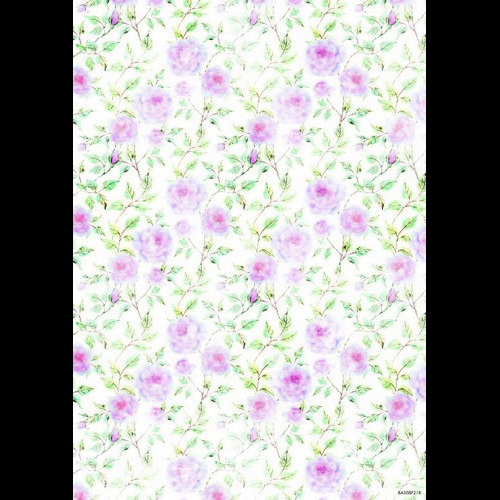 Studio Light Achtergrondpapier vel A4 Beautiful Flowers 218 BASISBF218 (new 05-16)