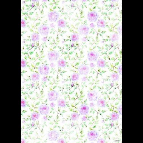 Studio Light Achtergrondpapier vel A4 Beautiful Flowers 218 BASISBF218 (new 05-16)