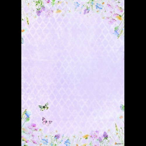 Studio Light Achtergrondpapier vel A4 Beautiful Flowers 219 BASISBF219 (new 05-16)