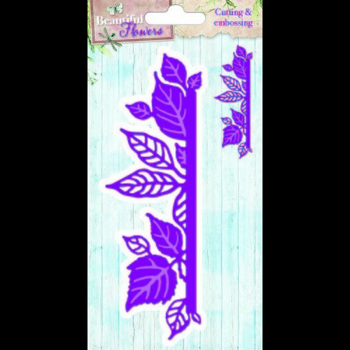 Studio Light Embossing Die Cut Stencil Beautiful Flowers nr 06 STENCILBF06 (new 05-16)