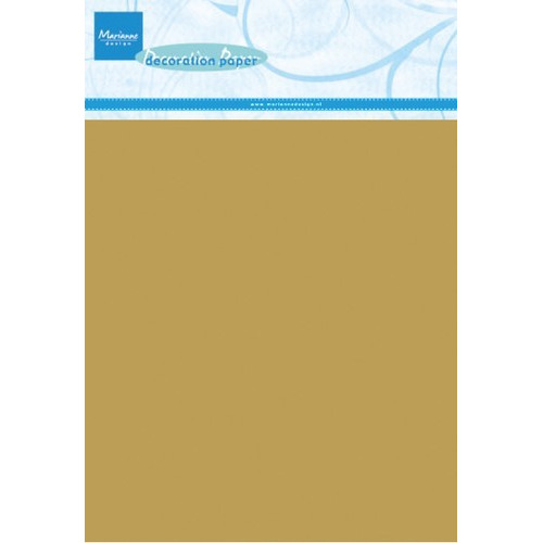Marianne D Decoration paper - gold CA3126 (08-16)