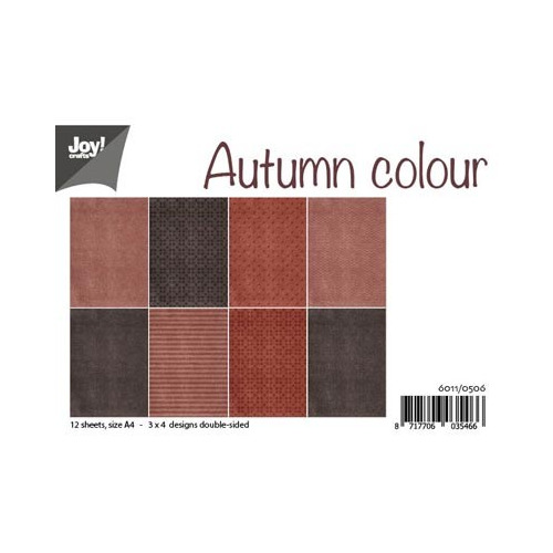 6011/0506 - Papier Set A4 - Autumn