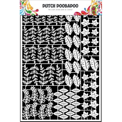Dutch Doobadoo Dutch Paper Art bladeren - A5 472.948.044 (10-16)