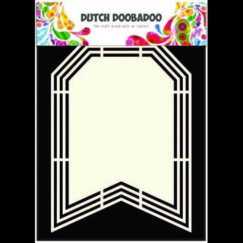 Dutch Doobadoo Dutch Shape Art frames vlag A5 470.713.139 (10-16)