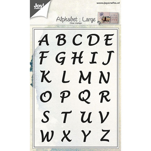 Clear stempel - Alfabet Hoofdletters