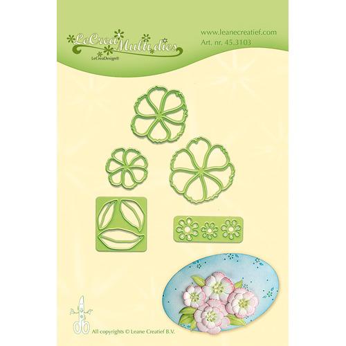 Leabilitie® Blossom snij en embossing mal