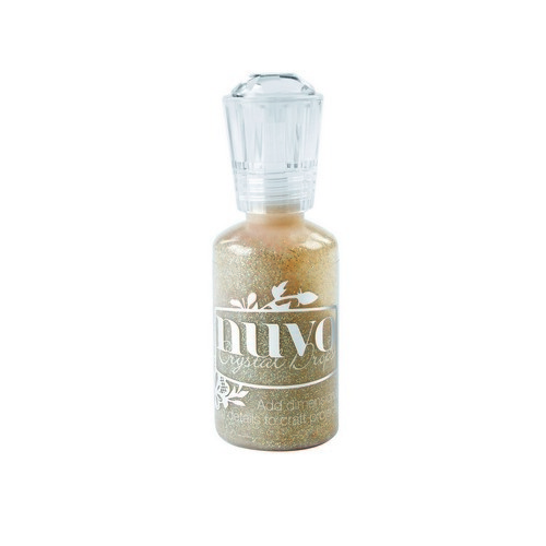 Nuvo glitter drops - honey gold 762N