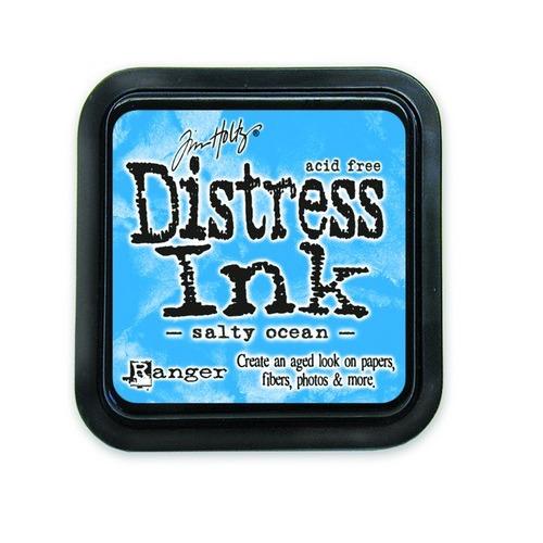 Ranger Distress Inks pad - salty ocean TIM35015 Tim Holtz
