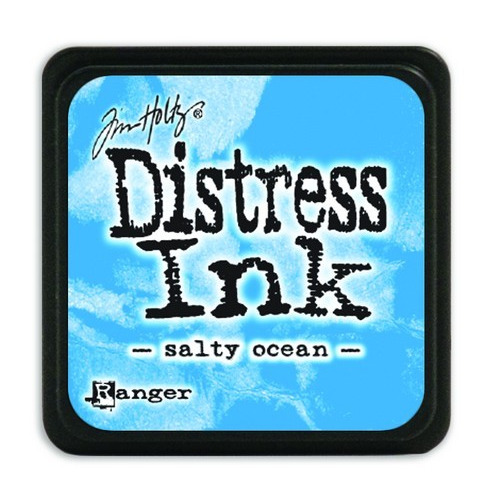 Ranger Distress Mini Ink pad - salty ocean TDP40132 Tim Holtz