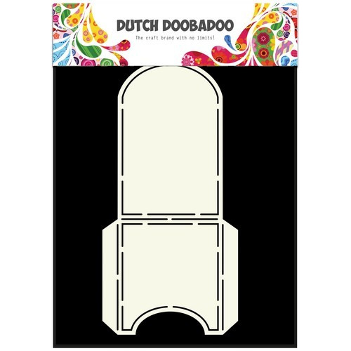 Dutch Doobadoo Dutch Box Art stencil theezak A5 470.713.036 (04-17)