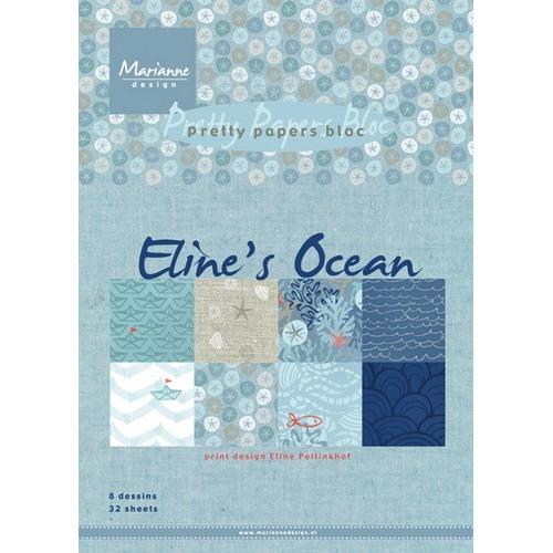 Marianne D Paper pad Eline`s Ocean PB7052 15x21 cm (05-17)