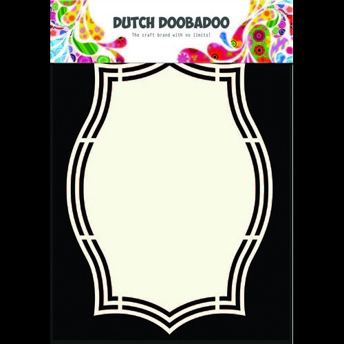 Dutch Doobadoo Dutch Shape Art frame ornament rechthoek A5 470.713.144 (05-17)