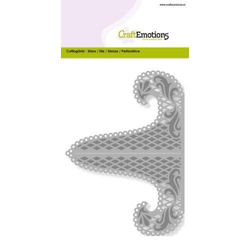 CraftEmotions Die - kaartenstandaard Card 10,5x14,8cm (06-16)