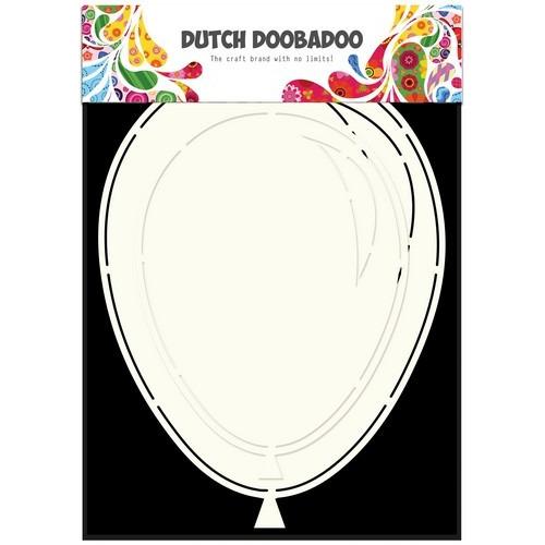 Dutch Doobadoo Dutch Card Art Stencil Ballonnen (2x) A5 470.713.631 (06-17)