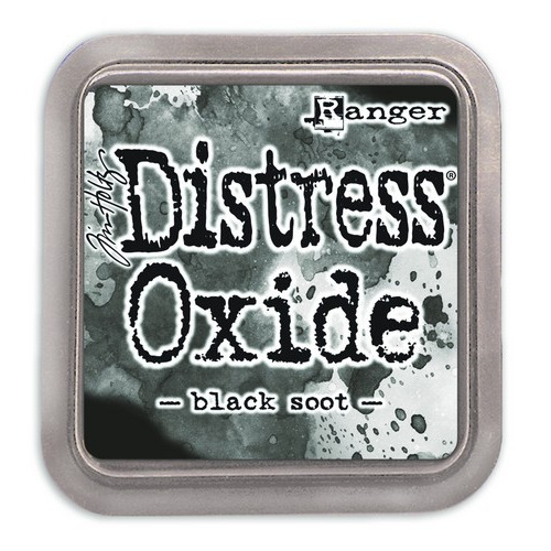 Ranger Distress Oxide - black soot TDO55815 Tim Holtz