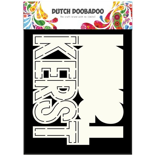 Dutch Doobadoo Dutch Card Art tekst kerst (NL) A5 470.713.638 (08-17)