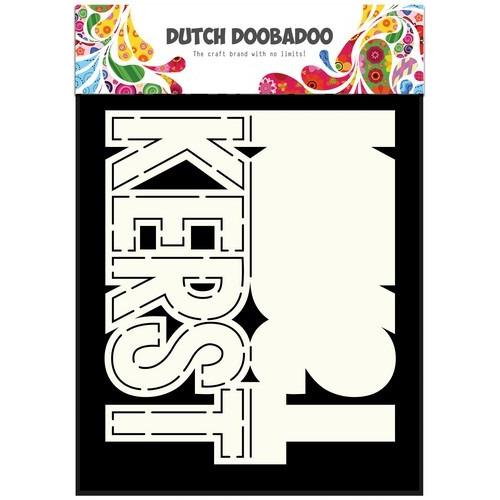 Dutch Doobadoo Dutch Card Art tekst kerst (NL) A5 470.713.638 (08-17)