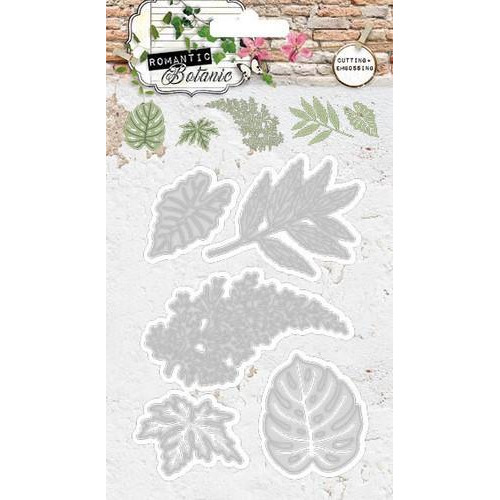Studio Light Embossing Die Cut Stencil Romantic Botanic nr 57 STENCILRB57 (09-17)