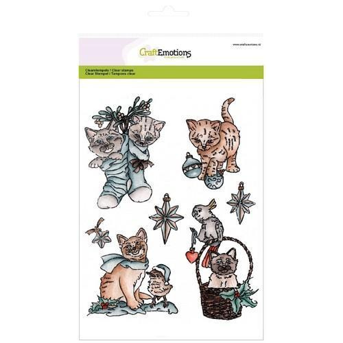 CraftEmotions clearstamps A5 - Christmas pets 2 (10-17)