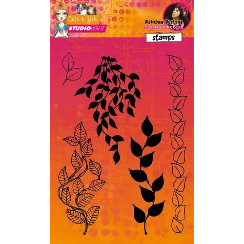 Studio Light Stamp A5 Mixed Media Rainbow Designs nr 05 STAMPMB05 (10-17)