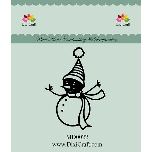 "293822 DIXI CRAFT DIE ""Snowman"" MD0022"