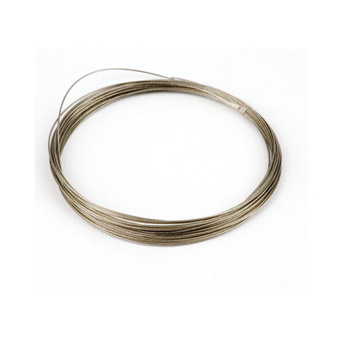 10829-4001 Metaaldraad nylon coating zilverkleur 0,4 mm 4 MT