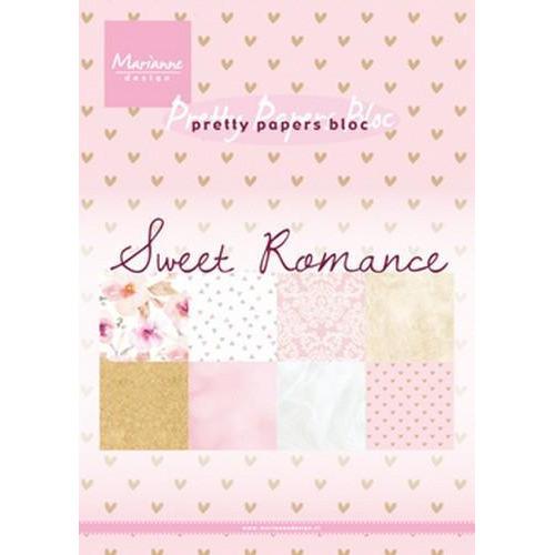 Marianne D Paper pad Sweet Romance PK9153 (01-18)