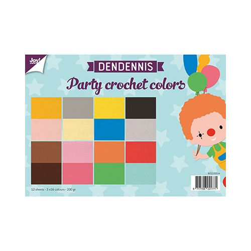 6011/0554 - Dendennis Party crochet colors