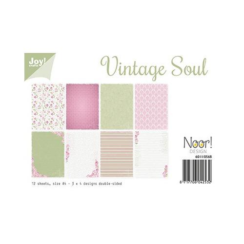 Papier Set A4 Papierset - Vintage Soul